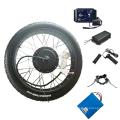 """170mm 190mm hub 3000w 5000w fat tire ebike kit 26"""""""