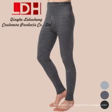 Los pantalones de moda de los hombres calientes cachemira nueva tejida de algodón Delgado nuevo 2017 otoño y el invierno de color sólido flaco superior exclusivo de las bragas más gruesas