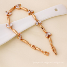 Joyería de la manera de la pulsera del color del oro de Xuping Rose