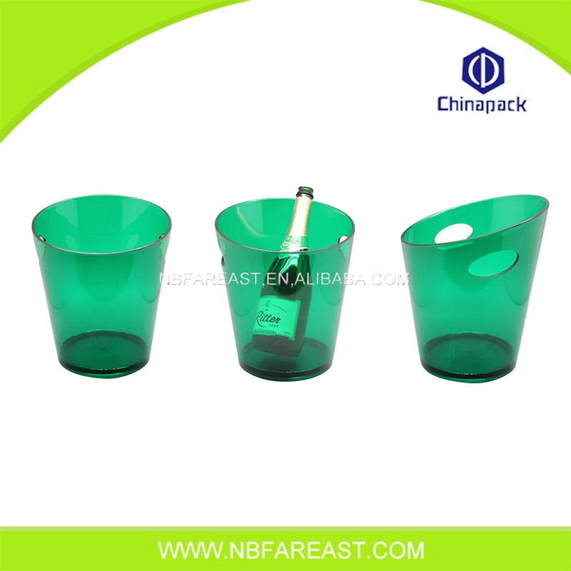 Multifunctional most attractive plastic ice bucket for beer