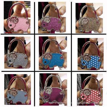 Девять цветов в форме слона, настольная вешалка для сумок