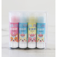 Eco Friendly Custom Colorful School Glue Stick PVA 10g Strong Adhesive Office Supply ASTM-D4236 certoficate