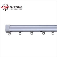 Plastic PVC double Curtain Track rail fitting