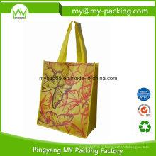 Sac promotionnel en polypropylène plastifié facile à porter