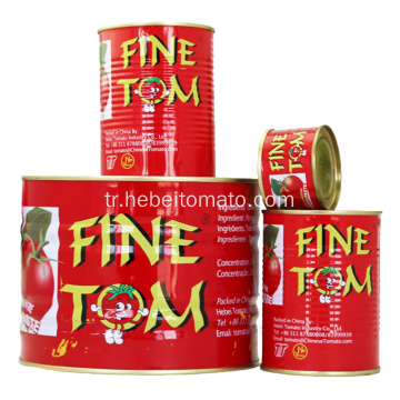 Factory Supply High Concentrated Canned Tomato Paste