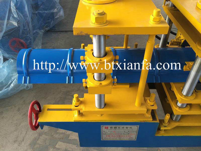 Glazed Tile Ridge Cap Making Machine