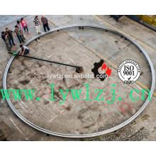Carrera de la bola del cojinete que hace girar OD17M que forja para la excavación / la pala de la explotación minera