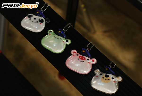 Kids Decorative Pink Pig Series With Hat Shape Bag Reflective Pendant Rv 104a 5