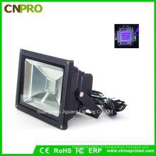 Lumière d'inondation UV de 20W IP65 LED pour traiter la pêche de Blacklight