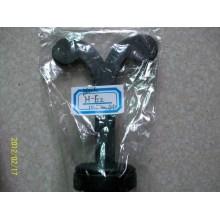 Black PU MDF Earring Tree Shape Earring Jewelry Display (H-E2)