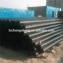 ASTM 1045 Cold drawn seamless black steel pipe factory price