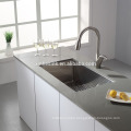 R19 Handmade Stainless Steel Kitchen Sink with single bowl, cUpc Single Bowl American Stainless Steel Undermount Kitchen Sink