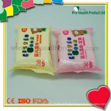 Plastikbaby-Wischen-Kasten für Großverkauf