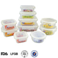 air tight china seal tight mini hermetic plastic food container