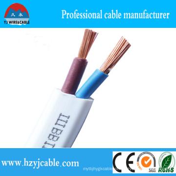 Preço de Fábrica 1.5, 2.5, 4, 6mm2 Multi-Core Flexível Flat Copper Wire with PVC Jacket