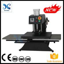 2015 Pneumatic Double Stations hot foil stamping machine tshirt printing machine heat transfer FJXHB3