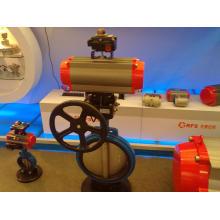 Pneumatische Antriebe mit DIN337. VD/VDE3845 & Namur Standard