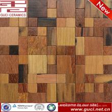 горячая дизайн продукта, смешанного массива дерева, мозаичный пол и плитки стены
