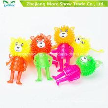 Light-up Parpadear Sonido Spiky Puffer Yo-Yo Ball Toys