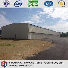 Estrutura móvel leve de aço para pequeno hangar