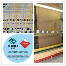 PTFE téflon ceinture PTFE enduit fibre de verre + kevlar ceinture ptfe tissu 4mm x 4mm fenêtre en maille