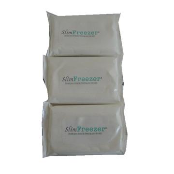 Toallitas húmedas desechables antibacterianas orgánicas de algodón puro 100%