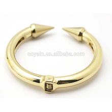 Gold Heavy Jewelry Bangle Alloy Anchor Cuff Bracelet
