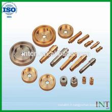 vente chaude de pièces de précision en métal customed