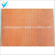 5 мм * 5 мм 80G / M2 Оранжевый стеклоткани нетто
