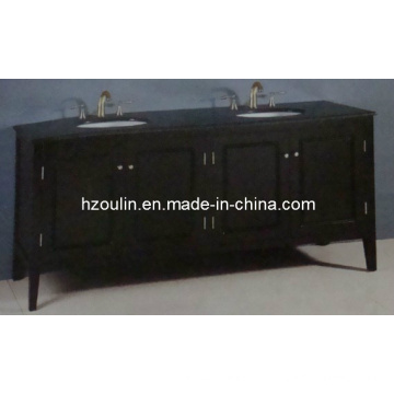 Двойная раковина деревянная Тщета ванной комнаты (БА-1117)