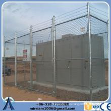2015 La venta directa GBW de la venta de China caliente de la venta utilizó los paneles de la cerca del acoplamiento de cadena