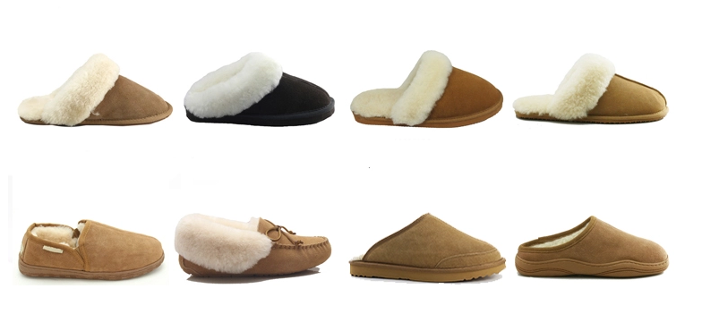 Breathable indoor and outdoor slippers
