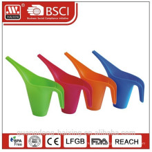 colorful watering can, plastic products, plastic housewares