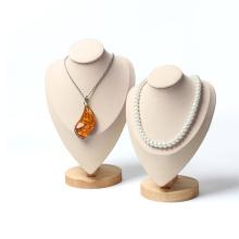 Изготовленный на заказ водоустойчивый прочный микрофибра для дисплея ожерелья