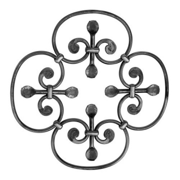 Ornamental Wrought Iron Rosettes