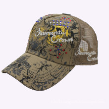 Embroidery and Printing Logo Cotton Baseball Trucker Cap Wholesale