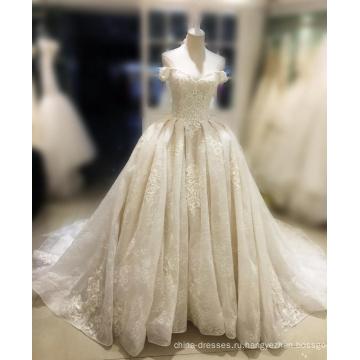 2017 vestido де noiva жемчуг милая кристалл корсет паффи бальное платье дешевые свадебные платья