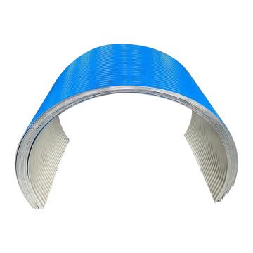 Mining Galvanized Steel Belt Conveyor Protection Color Rain Hood Cover