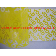 Tamper Evident Void Security Labels Custom Sticker Anti-Forgery Printing Paper