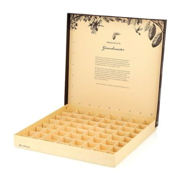 Chocolate Wedding Luxury Gift Box Kertas Kemasan Karton