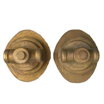 Peças de válvula forjadas de latão