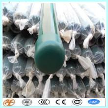 PVC-beschichtetes Pfirsich / runder Zaunpfosten