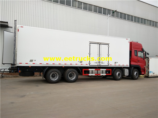 25MT Reefer Food Vans