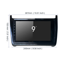 Navigation GPS Android pour VW Polo