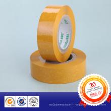 Ruban d'emballage transparent BOPP de haute qualité