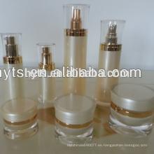 Botella de loción acrílica vacía para envases cosméticos