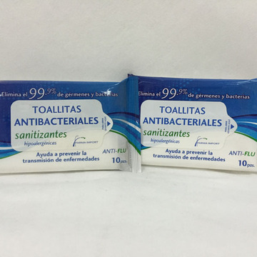 99,9% antibakterielle OEM Single Wet Wipes