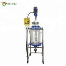 10L Laboratory High Quality  Lab Chemical Jacketed Double Wall Glass Reactor