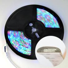 Flexible DC12V LED tira blanca RGB Iluminación impermeable de Navidad