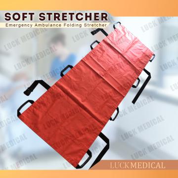 Civière d'urgence médicale de civière souple portative de PVC